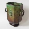 GAB No. 329 Art Deco Bronze vase