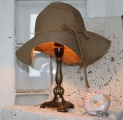 Bronze bordlampe