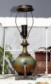 Art Deco bronze bordlampe